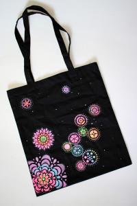 """taška """"Mechanické květiny"""""""